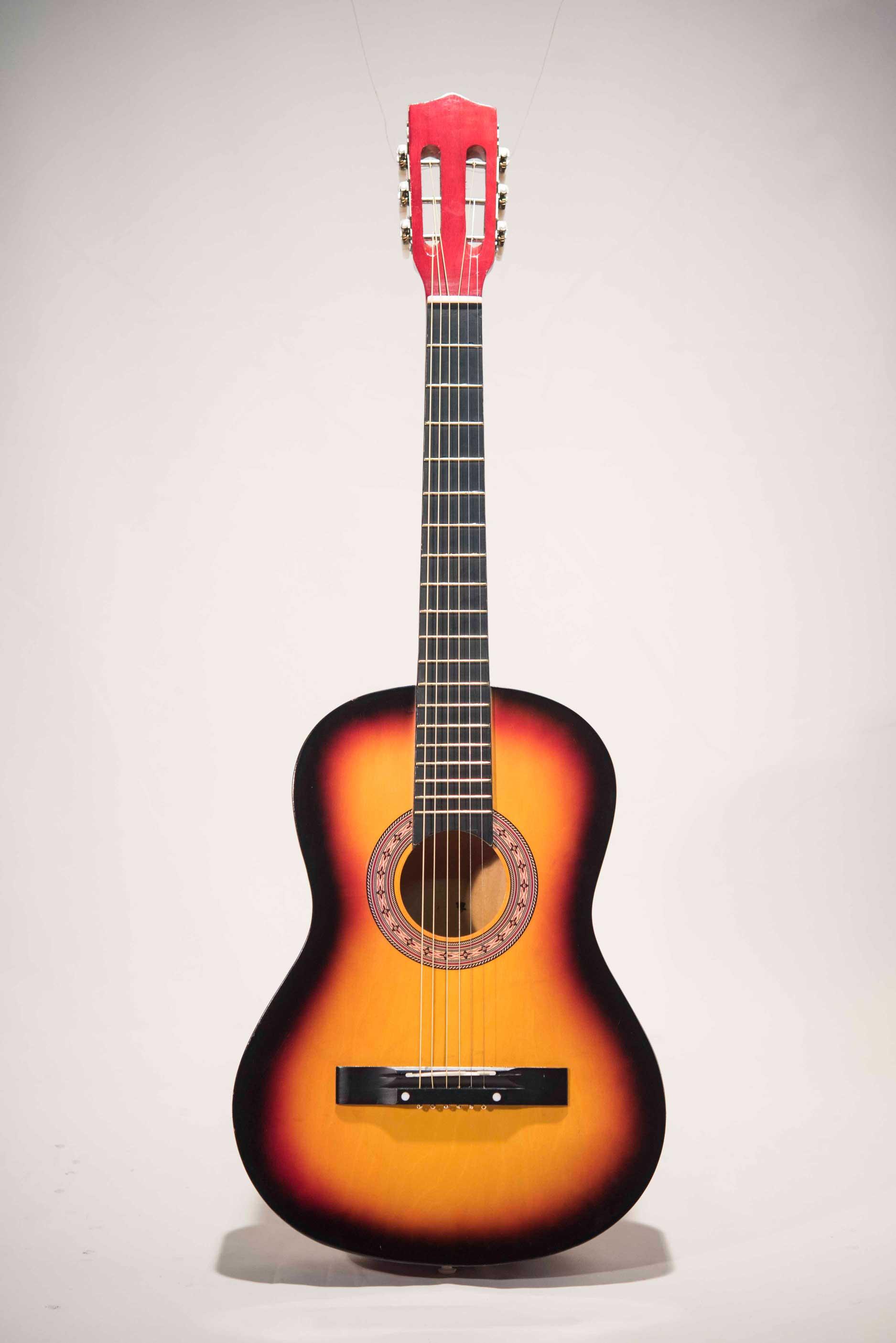 อคูสติกกีต้าร์มือสอง Acoustic Guitar Sunburst