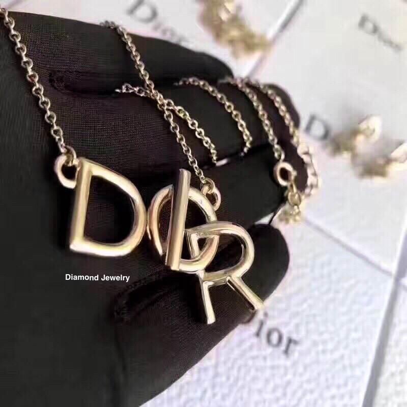 พร้อมส่ง Christian Dior Necklace สร้อยคอ กำไลแบรนด์ดิออ