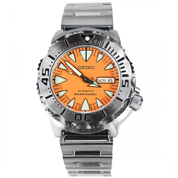 Seiko Monster The Fang Automatic Diver Watch SRP309J1 Made In Japan
