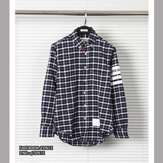 เสื้อเชิ้ต Thom Browne Shirt (สก็อตดำขาว)