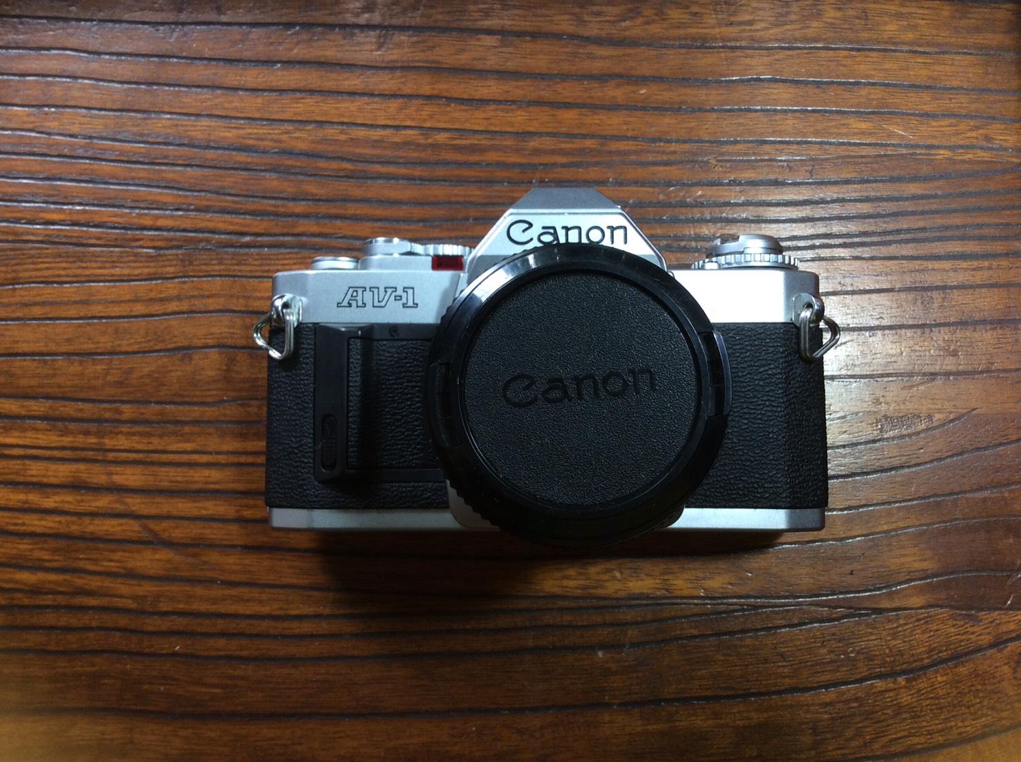Canon AV-1 Canon Lens FD 50mm.F1.8