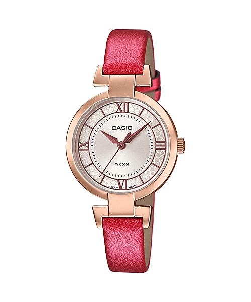 นาฬิกาข้อมือผู้หญิงCasioของแท้ LTP-E403PL-9A2VDF CASIO นาฬิกา ราคาถูก ไม่เกิน สามพัน