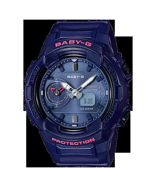 Baby-G ของแท้ ประกันศูนย์ BGA-230S-2A ThankYouSale เบบี้จี นาฬิกา ราคาถูก ไม่เกิน สี่พัน