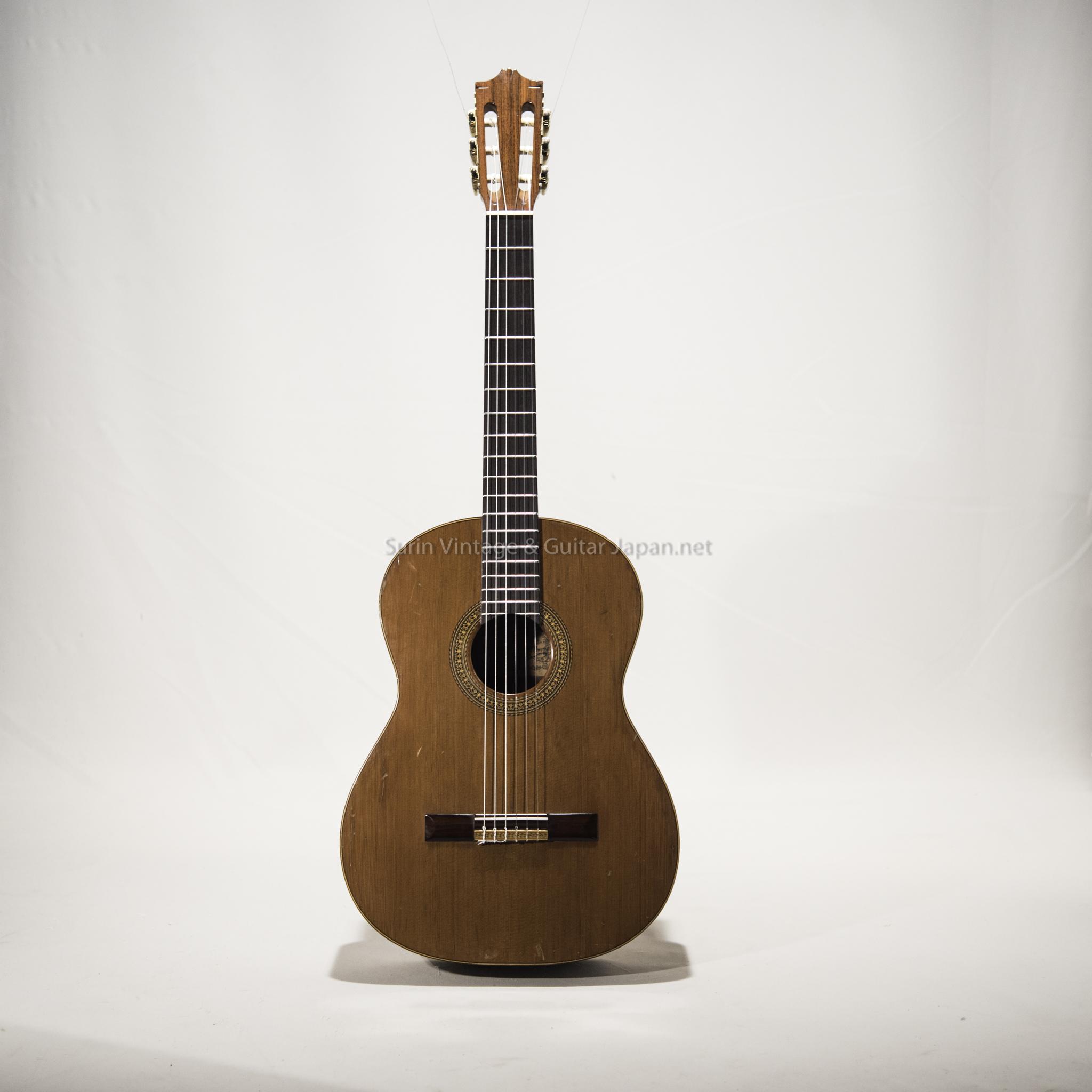 กีต้าร์คลาสสิคมือสอง Hiroshi Tamura Guitarra Tamura P-45