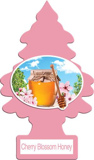 Little Trees กลิ่น Cherry Blossom Honey กลิ่นดอกซากุระผสมน้ำผึ้ง หอมหวาน