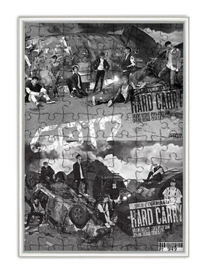 จิ๊กซอว์+กรอบ GOT7 Hard Carry
