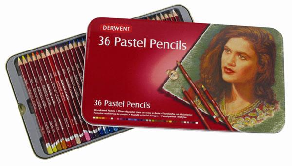 สีไม้ DERWENT Pastel Pencils - 36 Colours