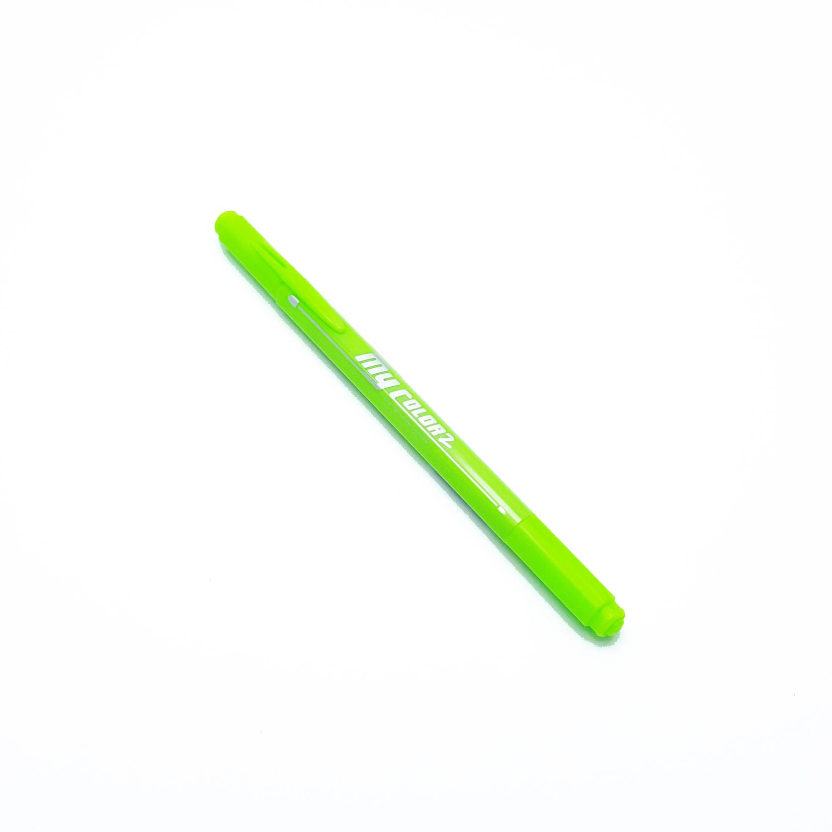 ปากกาสี 2 หัว My Color 2 - No.51 Yellow Green