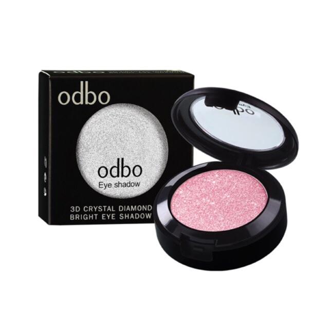 Odbo OD241 3D crystal diomond bright eyeshadow ของแท้