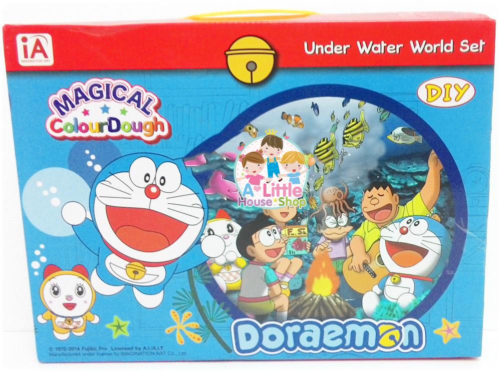 แป้งโดว์ Doraemon ชุดโดราเอม่อน ตะลุยท้องทะเล