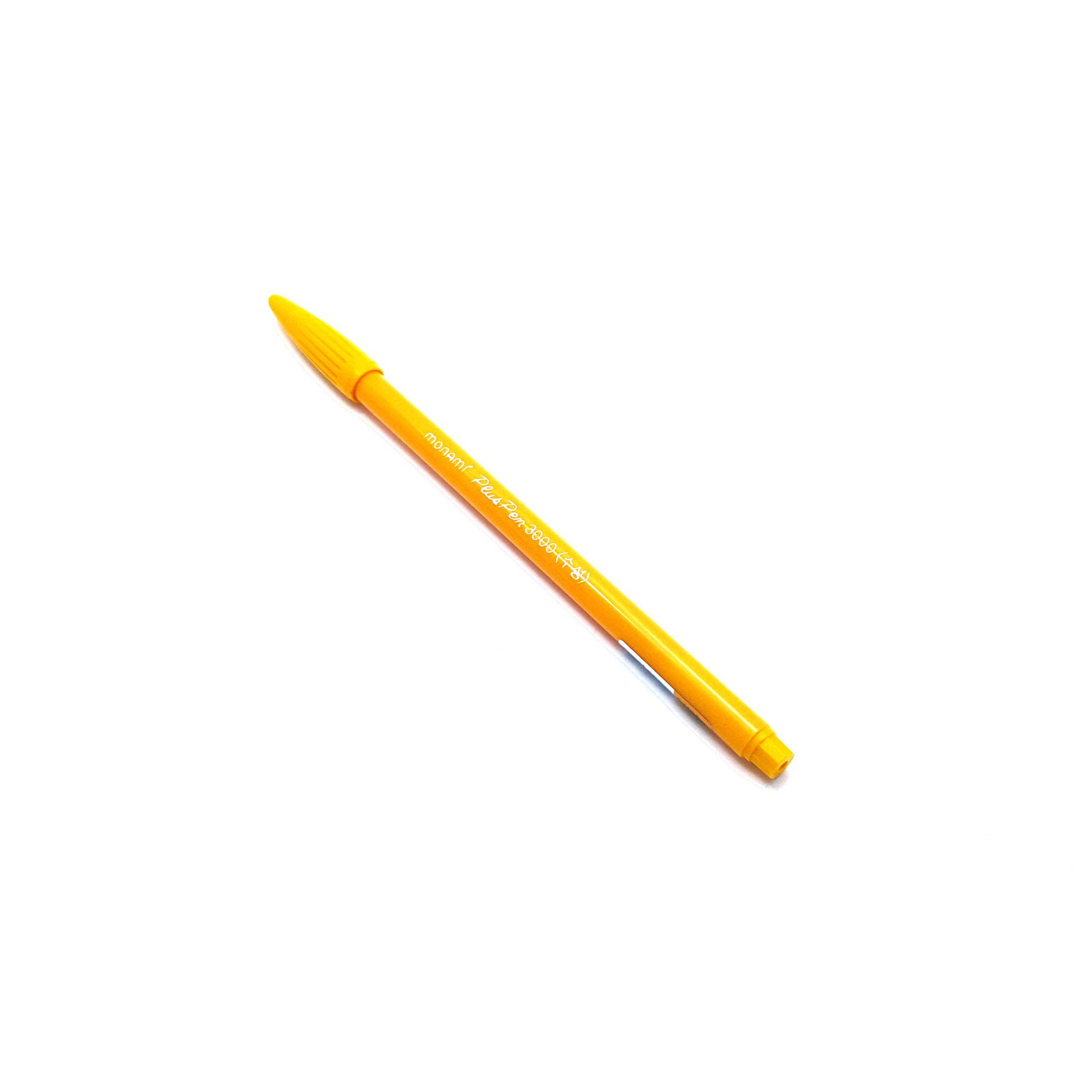 ปากกาสี Monami PlusPen 3000 - No.57 Gold Yellow