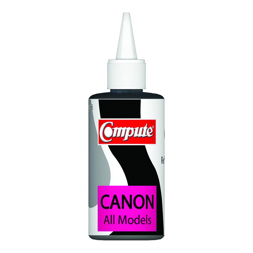 น้ำหมึกเติม (Refill Inkjet) คอมพิวท์ For CANON All model, G-Series (Black)