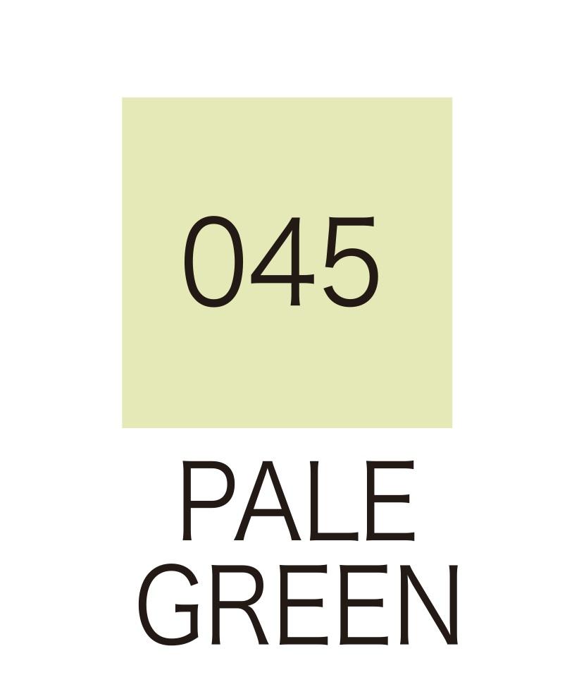 ปากกาสี 2 หัว ZIG CLEAN COLOR No.045 - Pale Green