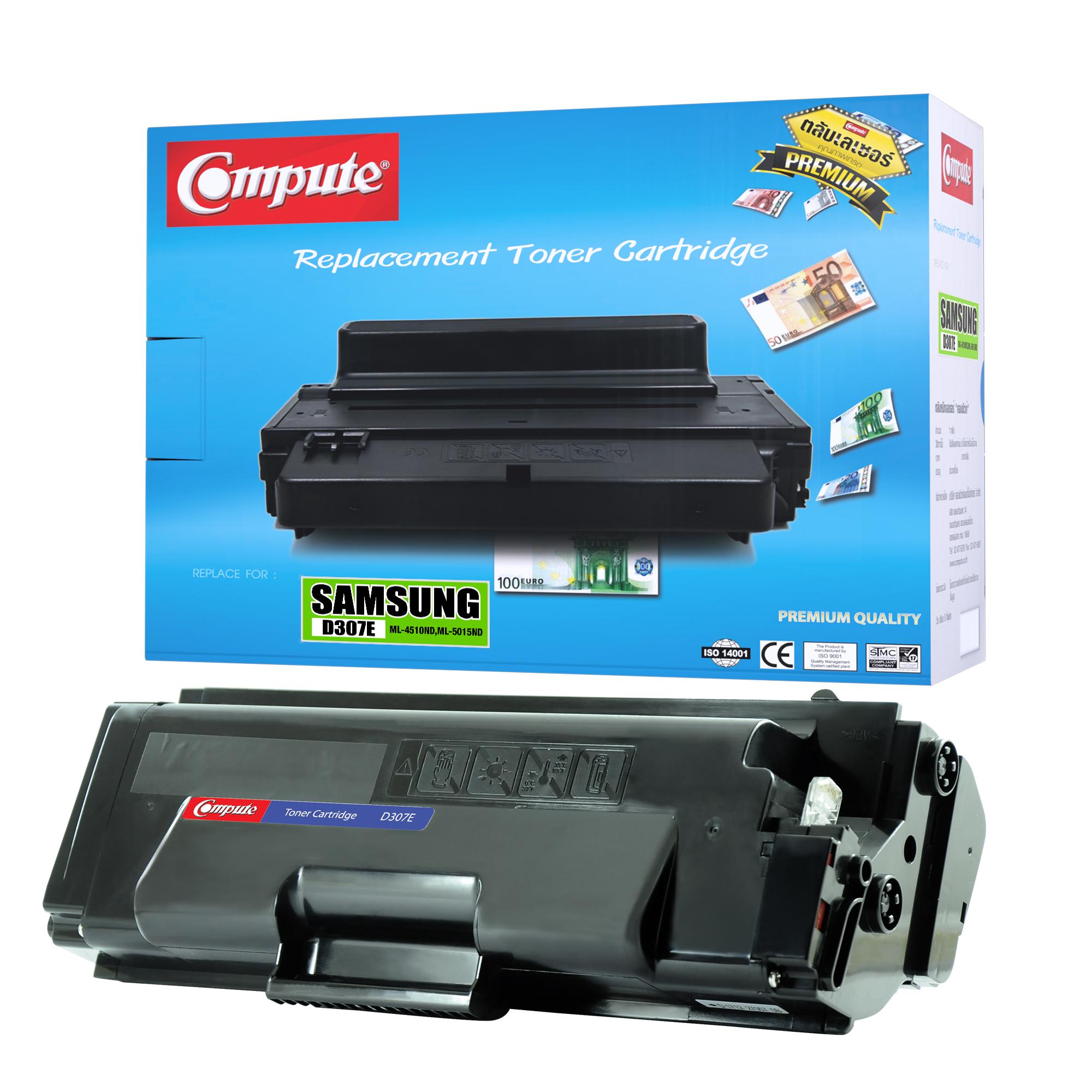 ตลับหมึกเลเซอร์ Compute Samsung MLT-D307E (Toner Cartridge)