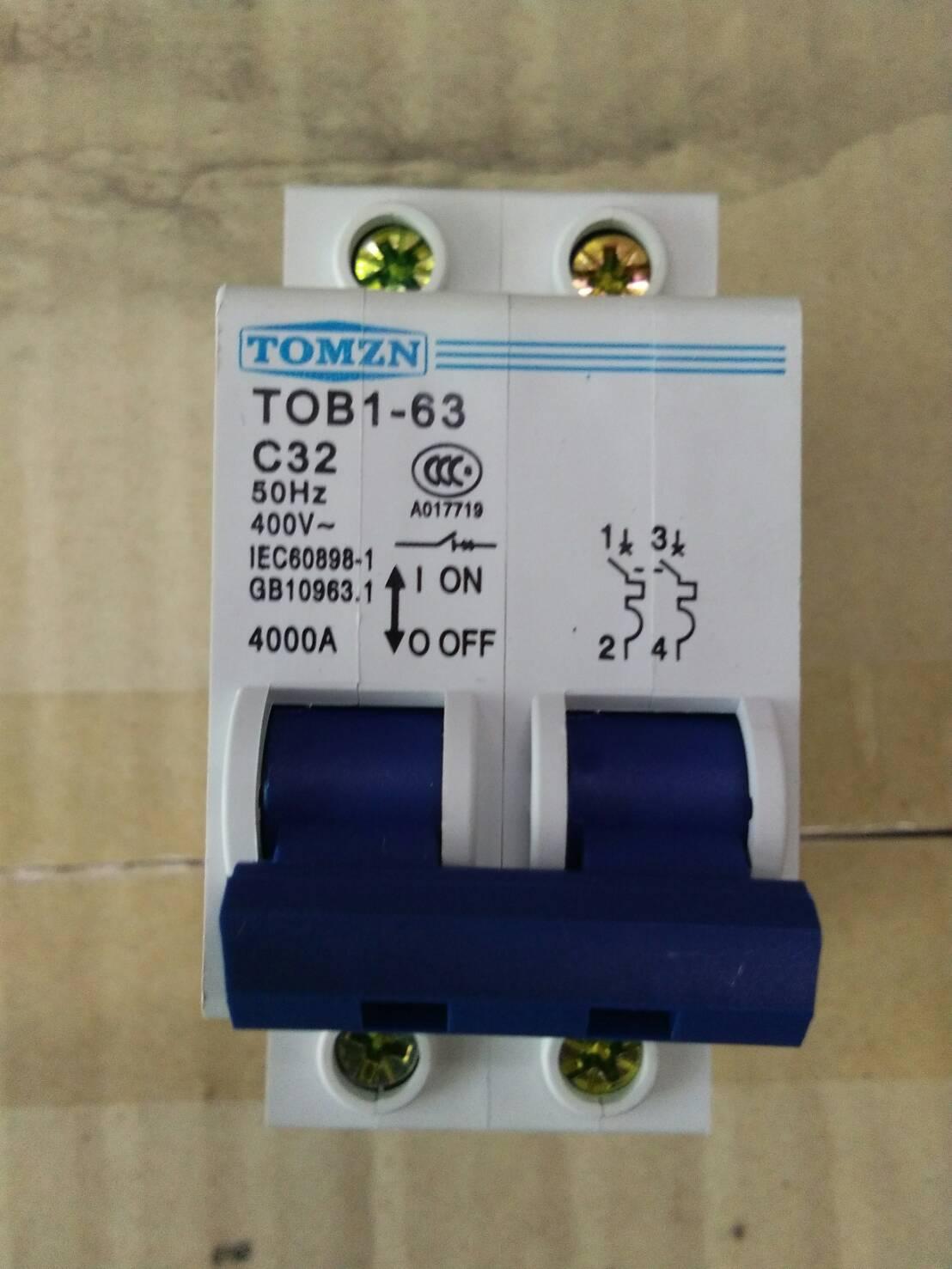 Breaker แบบ MCB AC 32A 400V 2P (TMZ)