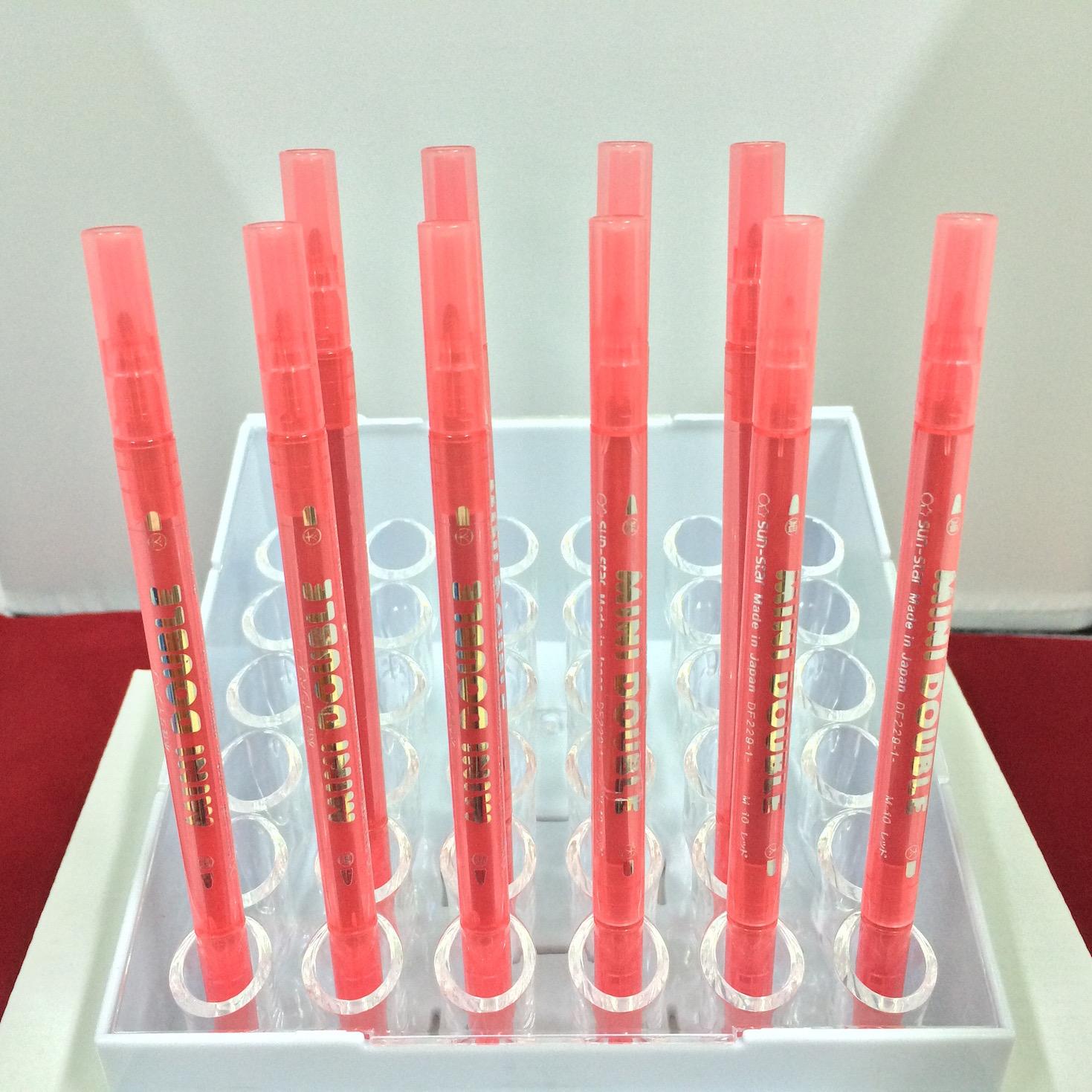 ปากกาสี 2 หัว MINI DOUBLE - M10
