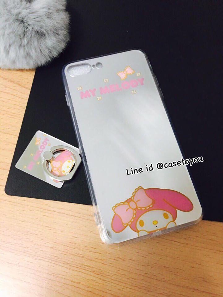 เคสกระจกเงา My Melody iPhone 5/5S/SE