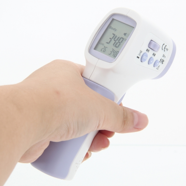 Non-Contact Infrared IR Thermometer for Forehead Body Test DT-8806C เครื่องวัดอุณหภูมิร่างกาย