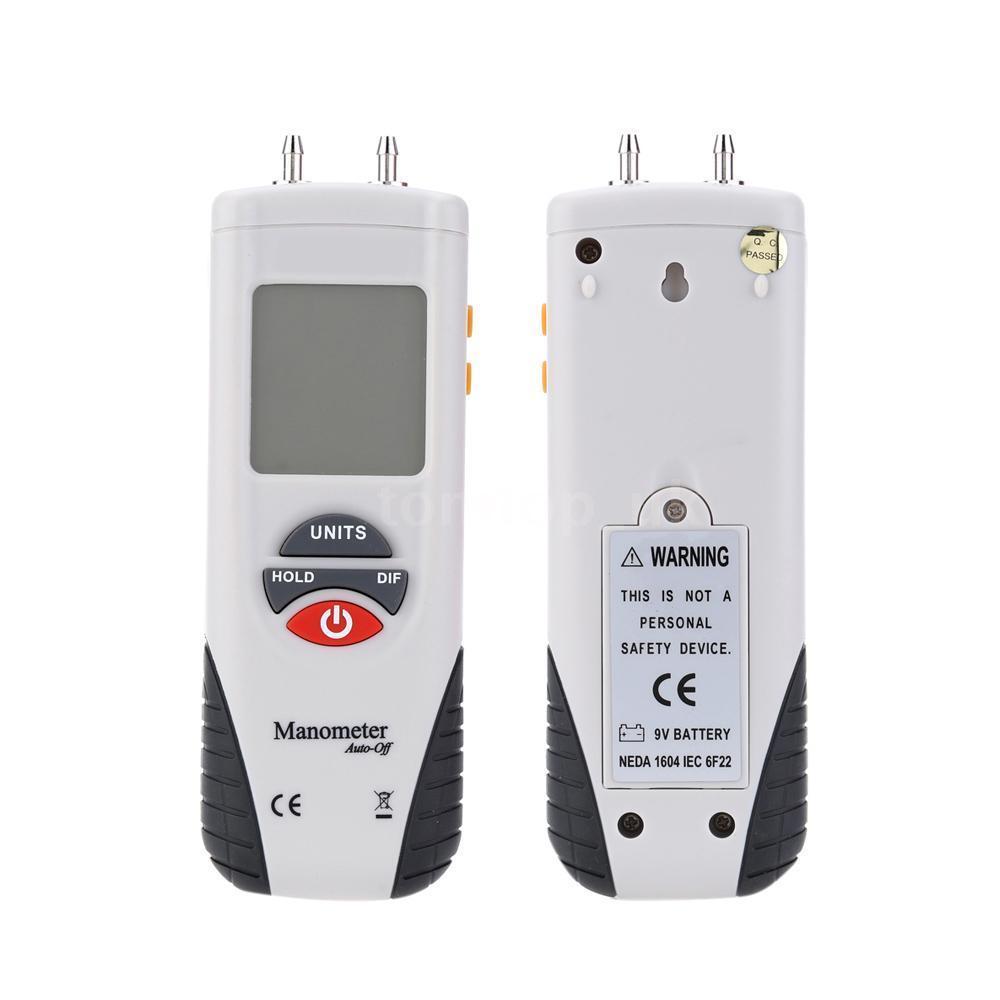 เครื่องวัดความดันลม Differential Pressure Manometer หรือ Air Pressure Meter รุ่น HT-1890 ย่านการวัด ±2.000