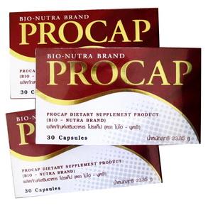 (3กล่อง) Procap อาหารเสริมลดน้ำหนัก สูตรสำหรับคนไทยโดยเฉพาะ รีวิวเพียบ, สูตร3in1 เน้นบล็อกแป้ง&ไขมัน และเร่งเผาผลาญ พร้อมช่วยลดหิวระหว่างมื้อด้วย ตัวเดียวครบสูตร
