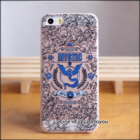 Pokemon GO MYSTIC iPhone 5/5S/SE