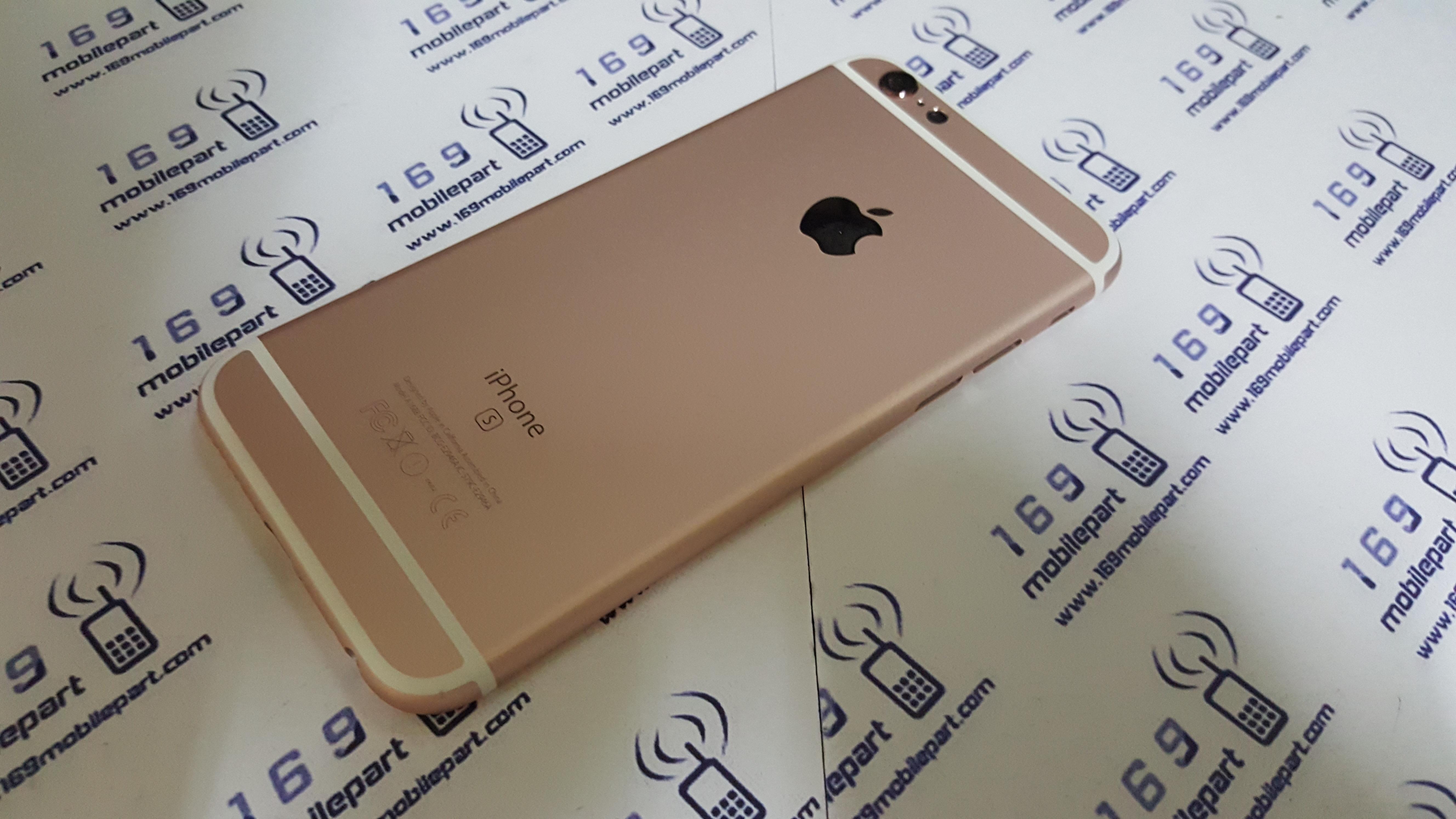 บอดี้ iPhone 6S สีชมพู Rose Gold แท้