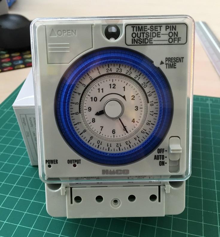 นาฬิกาตั้งเวลา 24 ชม. TM-B20 HACO