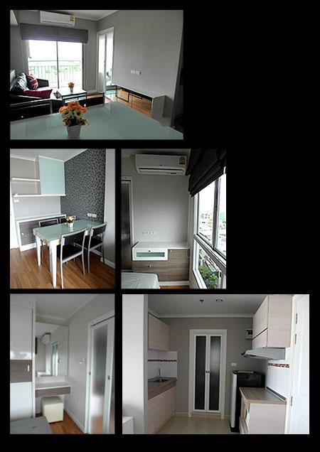 ให้เช่าคอนโด ลุมพินี เพลส รัชโยธิน Lumpini Place Ratchayothin ห้องใหม่ 1 ห้องนอน 1 ห้องน้ำ