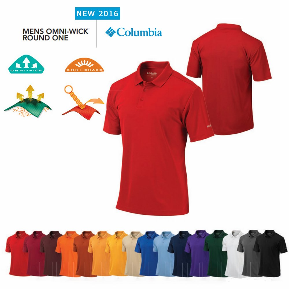 Columbia Round One Polo