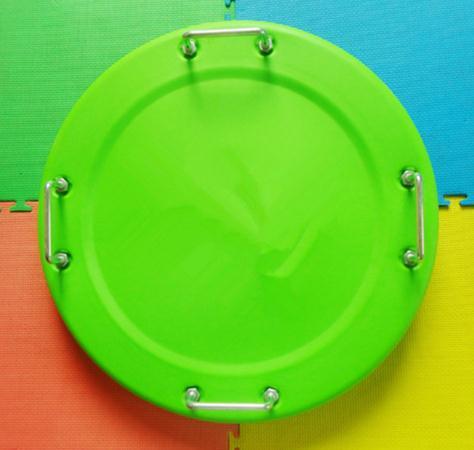 กระดานกลมพร้อมที่จับ ฝึกความสมดุล Round Balancing Board with Handles
