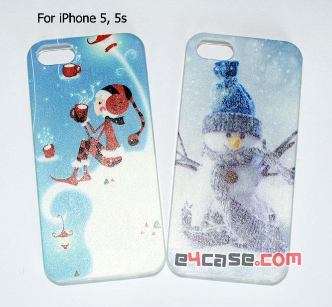 เคส iPhone 5, iPhone 5s - เคสยางสกรีนลาย