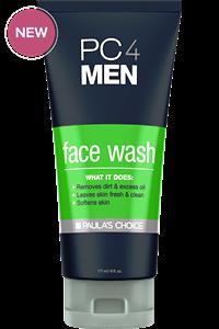 ลด 25 % PAULA'S CHOICE :: PC4MEN Face Wash เจลล้างหน้าสำหรับผู้ชาย ลดสิว ริ้วรอย รอยแดง ลดความมันส่วนเกิน ปรับผิวให้ชุ่มชื่น