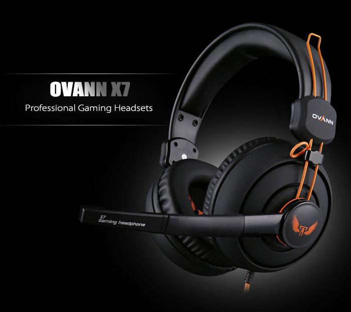 หูฟัง Ovann X7 Pro Gaming Stereo Headset (Orange)