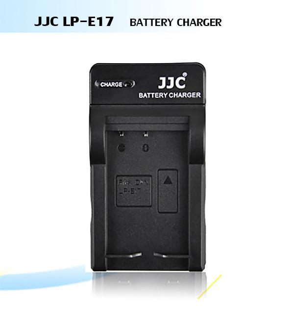 แท่นชาร์จแบตเตอรี่ JJC สำหรับ CANON LP-E17 ใช้กับ CANON หลายรุ่น