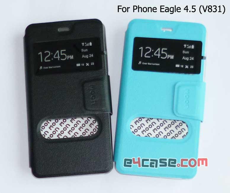 เคส Phone Eagle 4.5 (Dtac V831) - moon เคสพับโชว์เบอร์