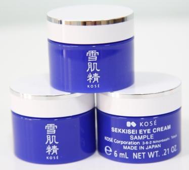 (Tester) Kose Sekkisei Eye Cream 6 mL อายครีมลดความหมองคล้ำรอบดวงตา