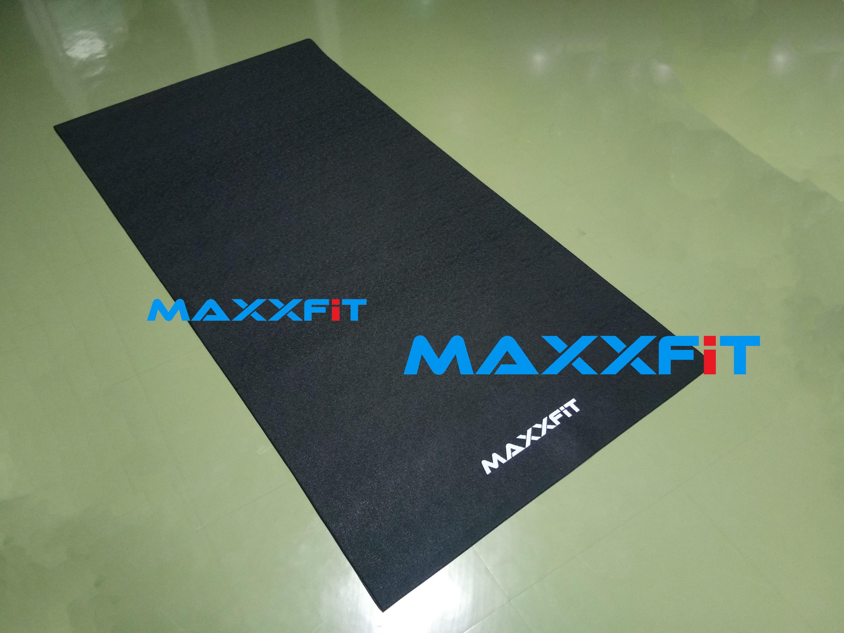 ขาย PVC Treadmill Equipment Mat MAXXFiT เสื่อรองลู่วิ่ง ยางปูพื้นกันรอยดัมเบล