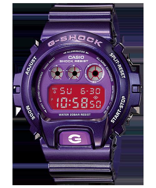 นาฬิกา คาสิโอ Casio G-Shock Standard Digital รุ่น DW-6900CC-6 สินค้าใหม่ ของแท้ ราคาถูก พร้อมใบรับประกัน