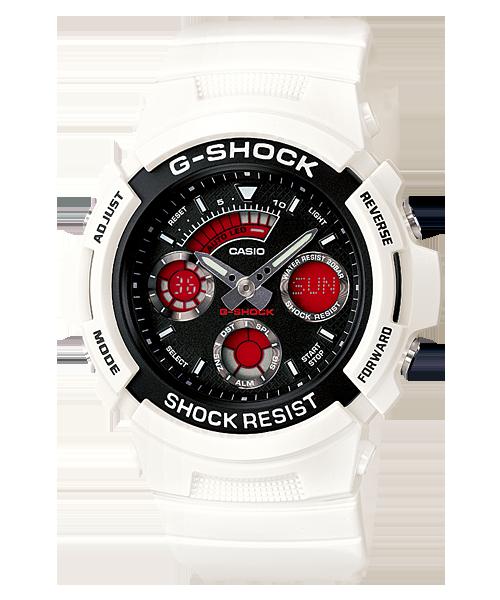 นาฬิกา คาสิโอ Casio G-Shock Standard Analog-Digital รุ่น AW-591SC-7A สินค้าใหม่ ของแท้ ราคาถูก พร้อมใบรับประกัน