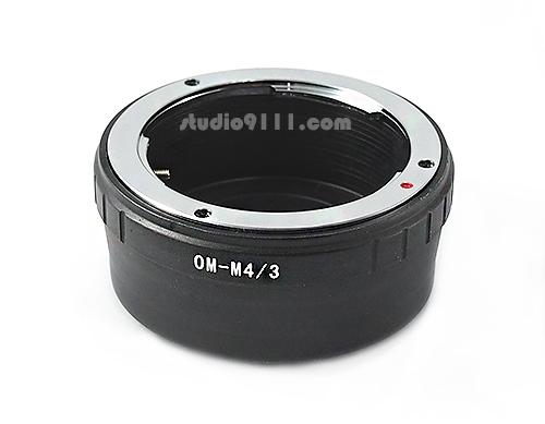 อแดปเตอร์แปลงท้ายเลนส์ OM (OLYMPUS) ใช้กับกล้อง M4/3