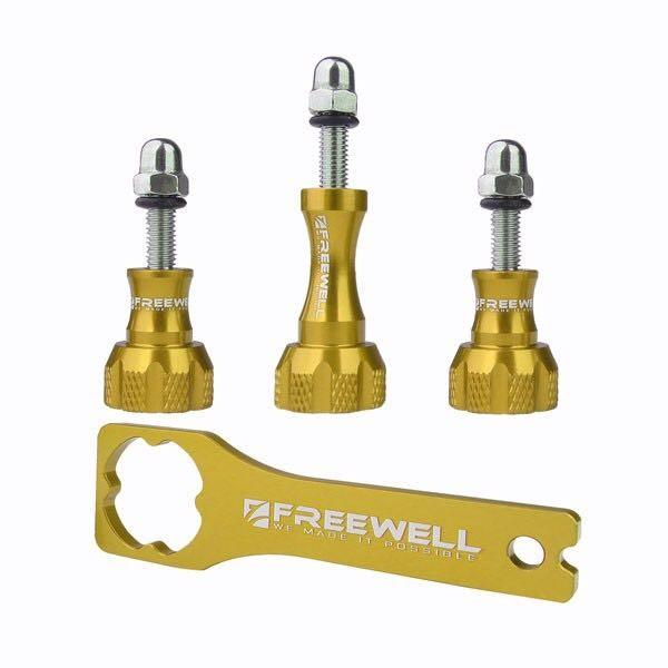 Freewell Thumb knob & Wrench tool Aluminium สีทอง