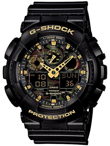นาฬิกา คาสิโอ Casio G-Shock Special Color Models รุ่น GA-100CF-1A9 สินค้าใหม่ ของแท้ ราคาถูก พร้อมใบรับประกัน