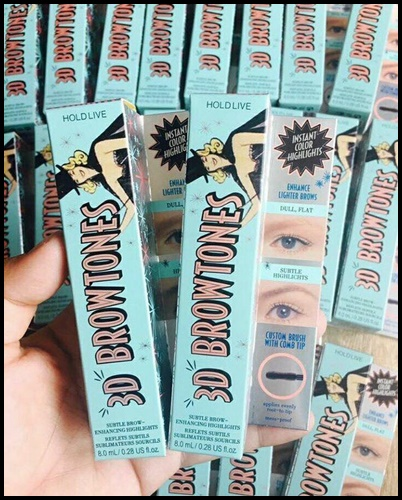 Hold Live3D BROWTONES Mascara