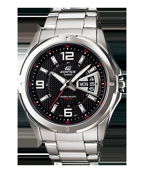 นาฬิกา คาสิโอ Casio Edifice 3-Hand Analog รุ่น EF-129D-1AV สินค้าใหม่ ของแท้ ราคาถูก พร้อมใบรับประกัน