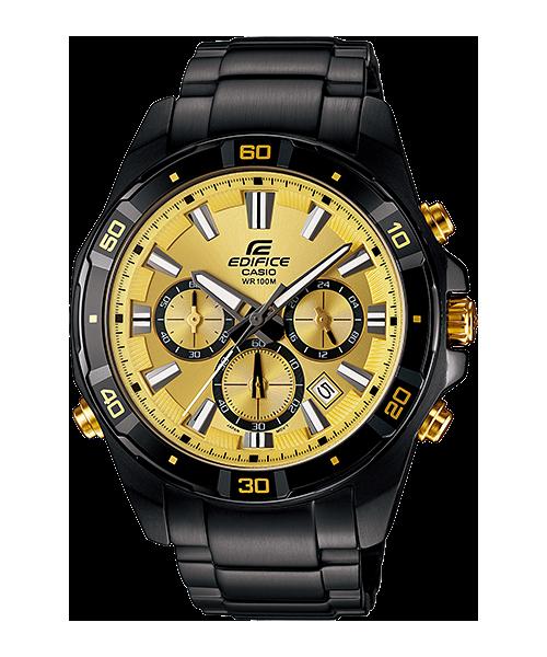 นาฬิกา คาสิโอ Casio Edifice Chronograph รุ่น EFR-534BK-9AV สินค้าใหม่ ของแท้ ราคาถูก พร้อมใบรับประกัน