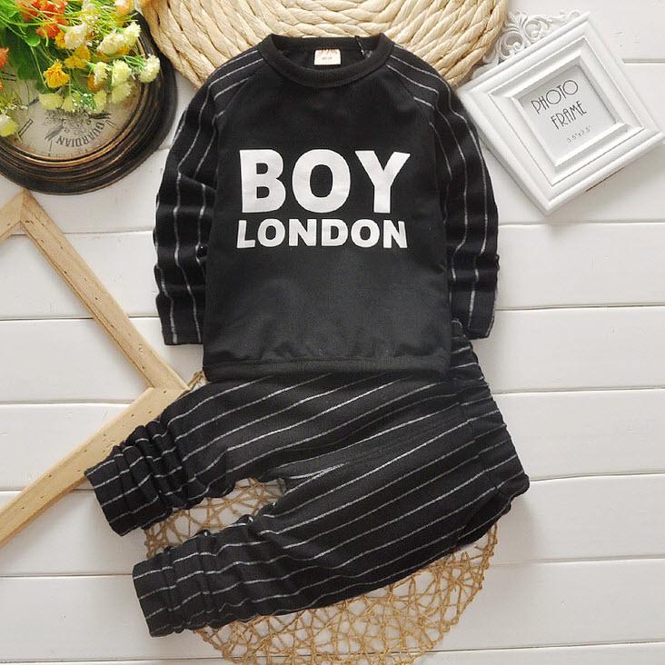 **ชุดเซ็ตเสือ BOY กางเกงขายาว | ดำ | size90x5ชุด | 5ตัว/แพ๊ค | เฉลี่ย 230/ตัว