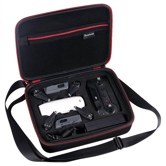 Smatree Smacase D400 Hardshell Storage Bag Carry Case for DJI Spark Drone
