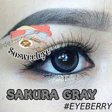 สายตาสั้น/POWER -475 SAKURA GRAY EYEBERRYLENS