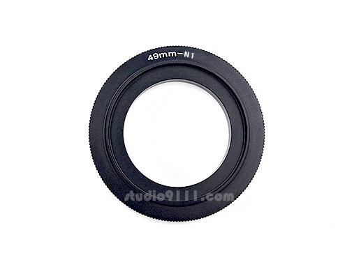 แหวนกลับเลนส์ Reverse Ring 49 mm for NIKON1