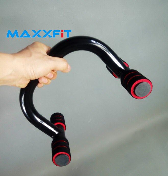 ที่วิดพื้น ตัวช่วยดันพื้นและหกสูง Push-Up Bars MAXXFiT Pro